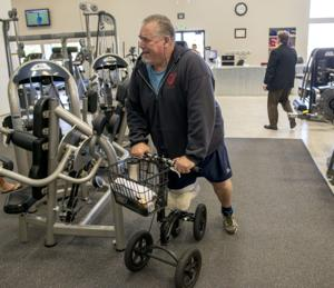 Community helps Galt pastor Tim Stevenson, who had leg amputated