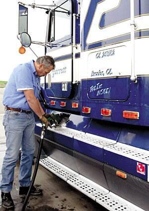 Diesel prices skyrocketing in California