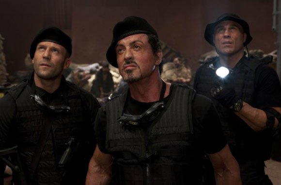 All-star cast is burden in lackluster Expendables 2