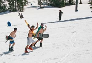 Move over, water activities — make time for some snow skiing for Fourth of July
