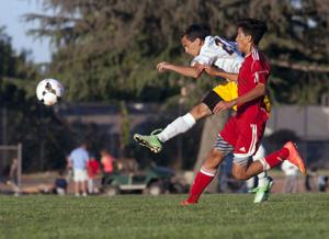 Boys soccer: Tigers hold off Trojans despite being a man down most of 2nd half
