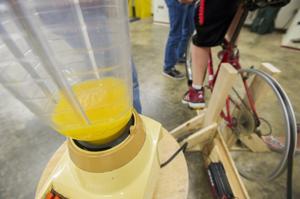 Galt High School's Engineering Club builds bicycle blender