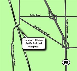 Lower Sacramento Road underpass