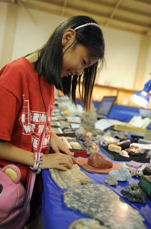 Learn about rocks, gems and minerals at the Earth's Treasures Gem Faire