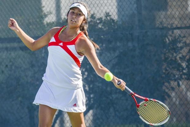 Tough draw as Flames fall to Troubadours in girls tennis