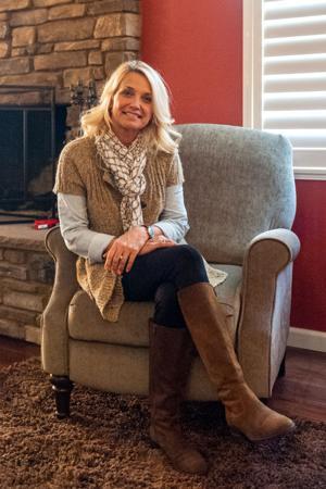 Bereavement group facilitator Nancy Rausch explains how to get through grieving process