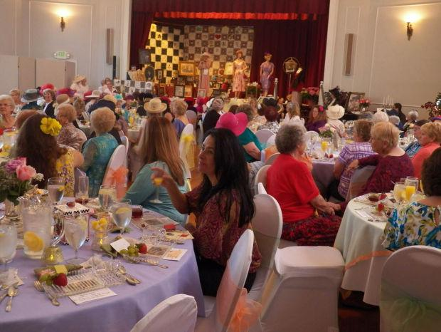 Lodi Woman's Club holds fourth annual Victorian tea