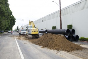 Lodi construction projects result in street closures on Mills and Turner