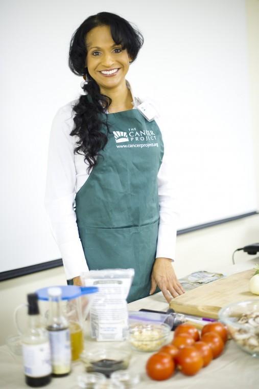 Health advocate Charmaine Vierra champions plant-based diet