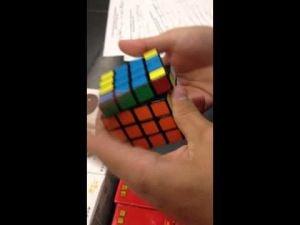 Speedsolving a Rubik's Cube