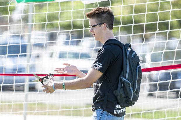 Jim Elliot Christian High School's new athletic field