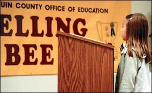 San Joaquin County school kids put through paces at spelling bee