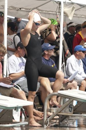 Mary Griffith shines in Sac-Joaquin Section swimming spotlight