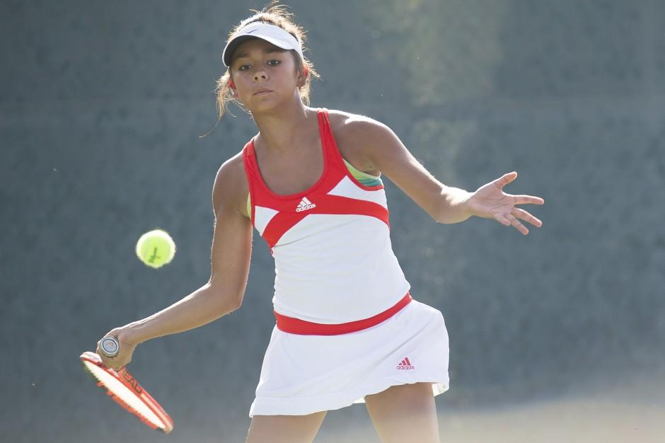 Tough draw as Flames fall to Troubadours in girls tennis