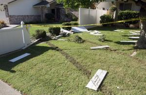 Police: Drunk driver crashes into residence, injures 5-year-old girl