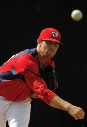 Galt's Ryan Mattheus making his big-league pitch with Washington Nationals