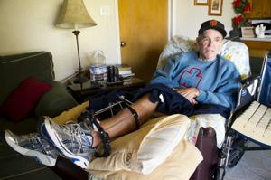 Lodi resident, longtime Ironman competitor Cliff Barnes had his legs severely injured in a bicycle accident