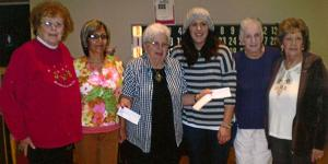 Fifty Plus Club donates funds to local charities