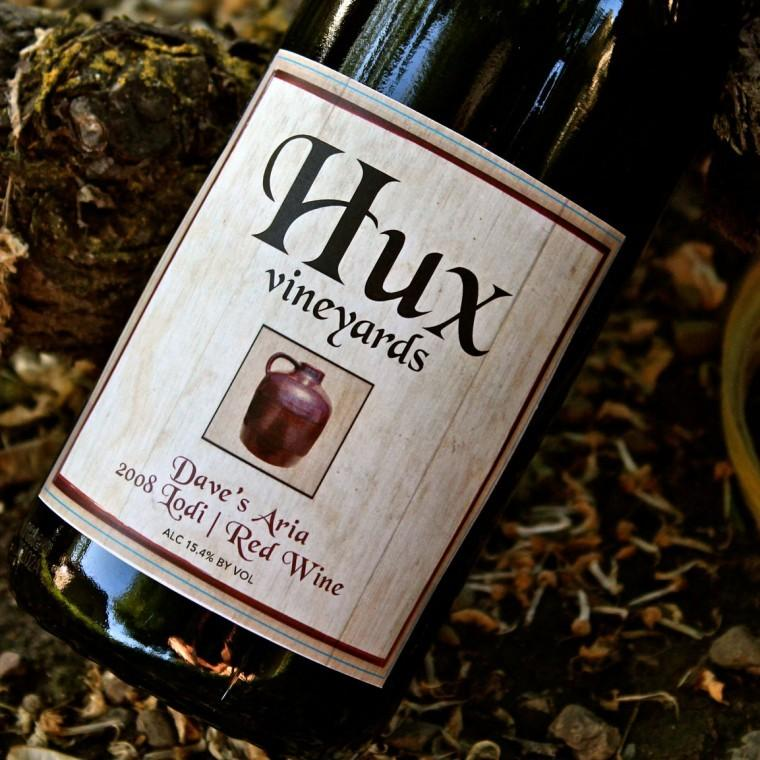 Hux Vineyards' Dave's Aria is flavorful, rare Lodi wine