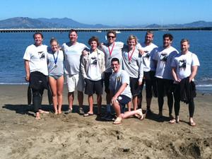 Local athletes brave the Alcatraz Sharkfest swim