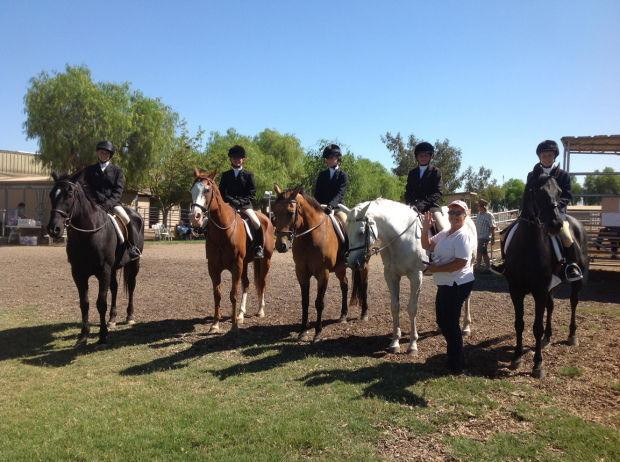 Liberty Oaks Pony Club competes at D'Alonzo Ranch