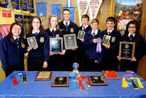 Eight students in Lodi High School chapter of FFA named state champions