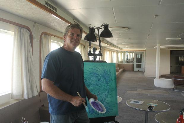 Art aboard