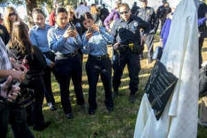 Galt honors fallen police officer Kevin Tonn at memorial ceremony