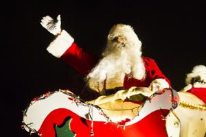 Parade lights up Lodi