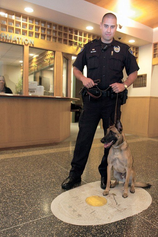 Lodi police officers partner has great bark  and bite