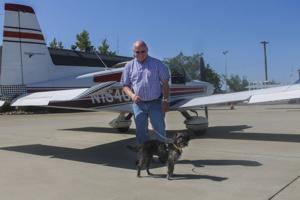Woodbridge pilot is on a mission to rescue shelter dogs