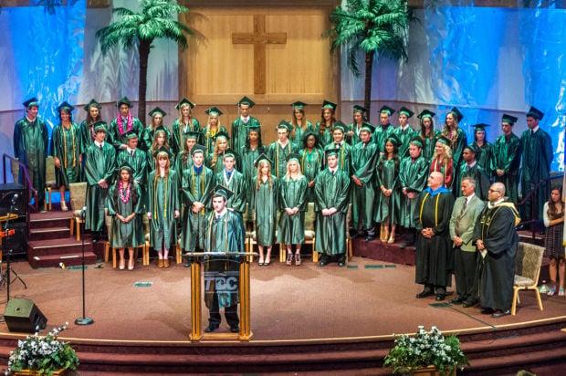 Jim Elliot Christian High School celebrates the class of 2014