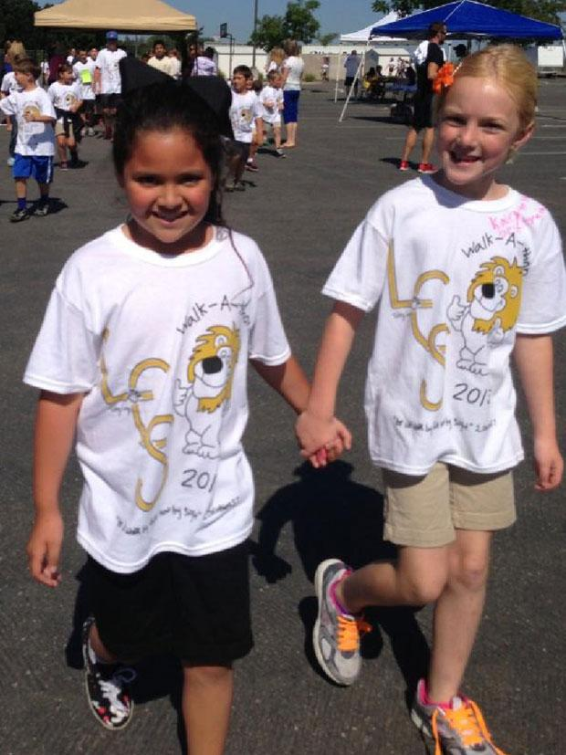Lodi Christian School holds walk-a-thon