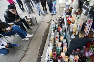 Candlelight vigil held for victim of Thornton shooting