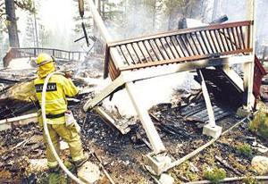 Over 225 homes destroyed