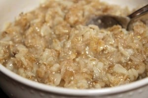 Try adding toppings to make oatmeal an exciting breakfast