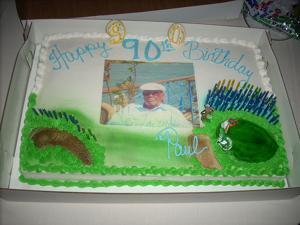 Percy Provost celebrates 90th birthday