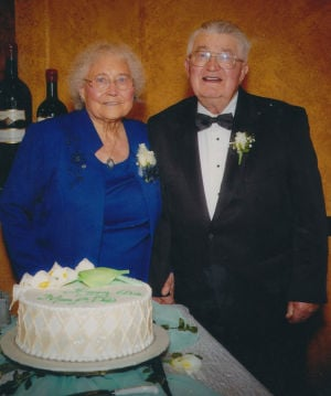 Robert and Pauline Litfin celebrate 60 years of marriage with a brunch
