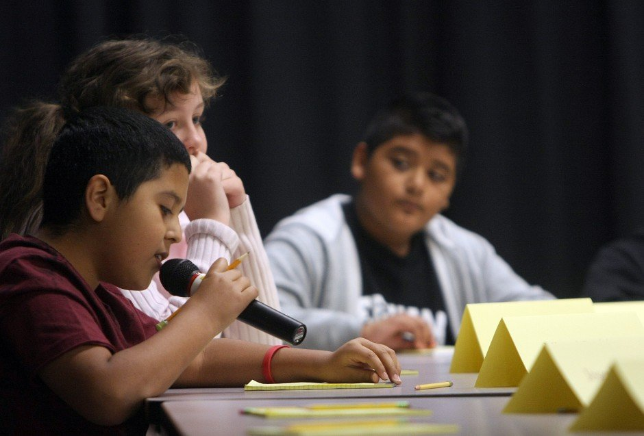 Students on edge as they compete at Lodi spelling bee