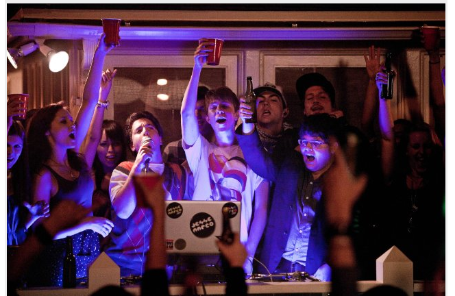 Danger, illegal party antics in fun 'Project X'