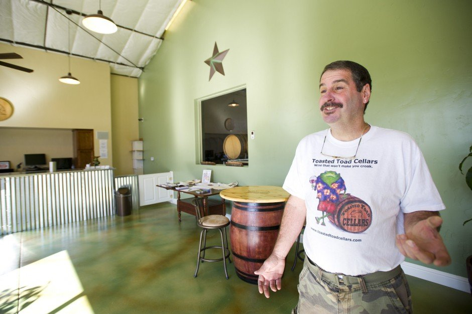 Toasted Toad hops on to Lodi wine scene