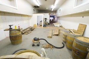 New Downtown tasting room will sell furniture crafted from wine barrels