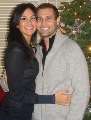Christopher Sinclair and Jennifer Ochsner were engaged last April