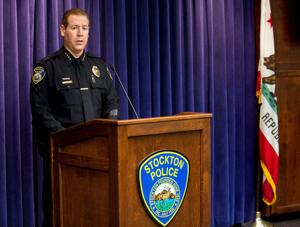 Stockton chief: Police killed hostage in bank robbery