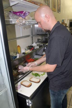 Grilled sandwiches and ice cream sundaes at Donkey J's in Lockeford