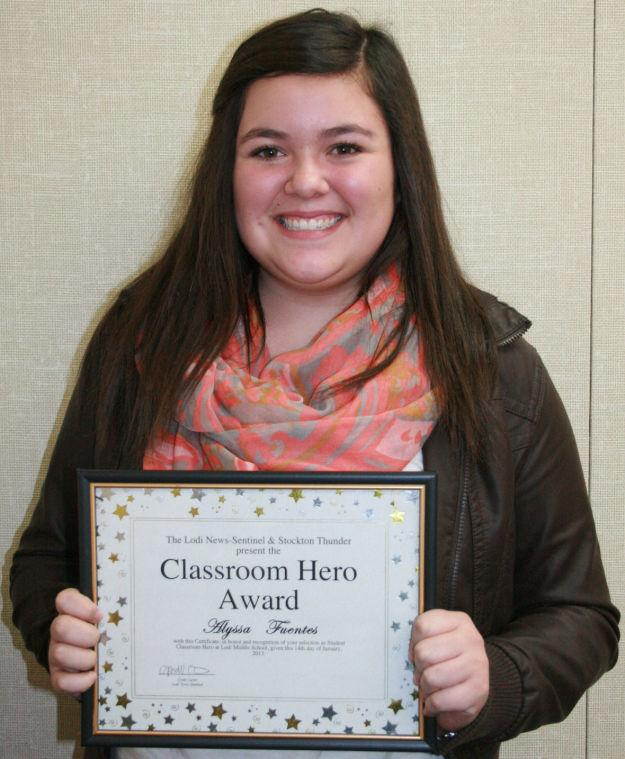 Lodi Middle School names classroom heroes