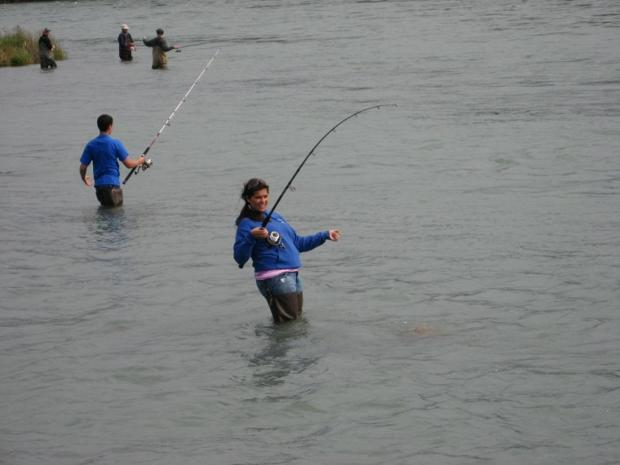 Fishing on the Kenai River