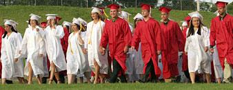 Lodi High's 'spunky' class graduates
