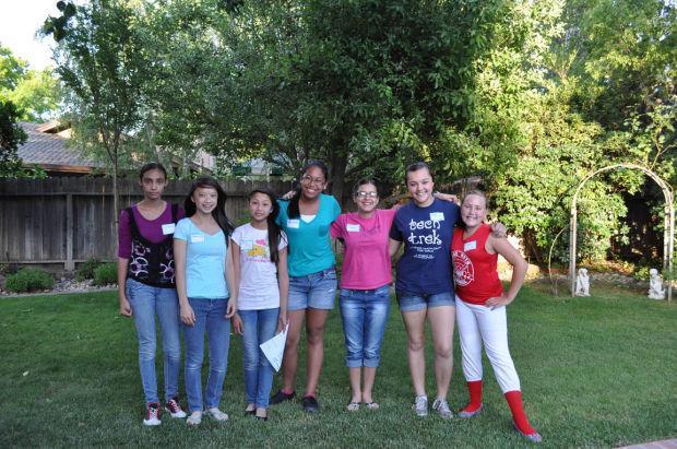 American Association of University Women sends five eighth-grade girls to Tech Trek