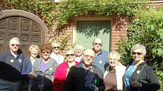 Lodi Garden Club visits Filoli Gardens